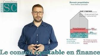 3 minutes immobilier suisse - 01 Les bases pour devenir propriétaire