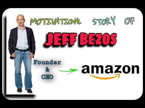 Real Life Motivational story of Jeff Bezos | Founder & CEO of Amazon by The Knowledge Express.