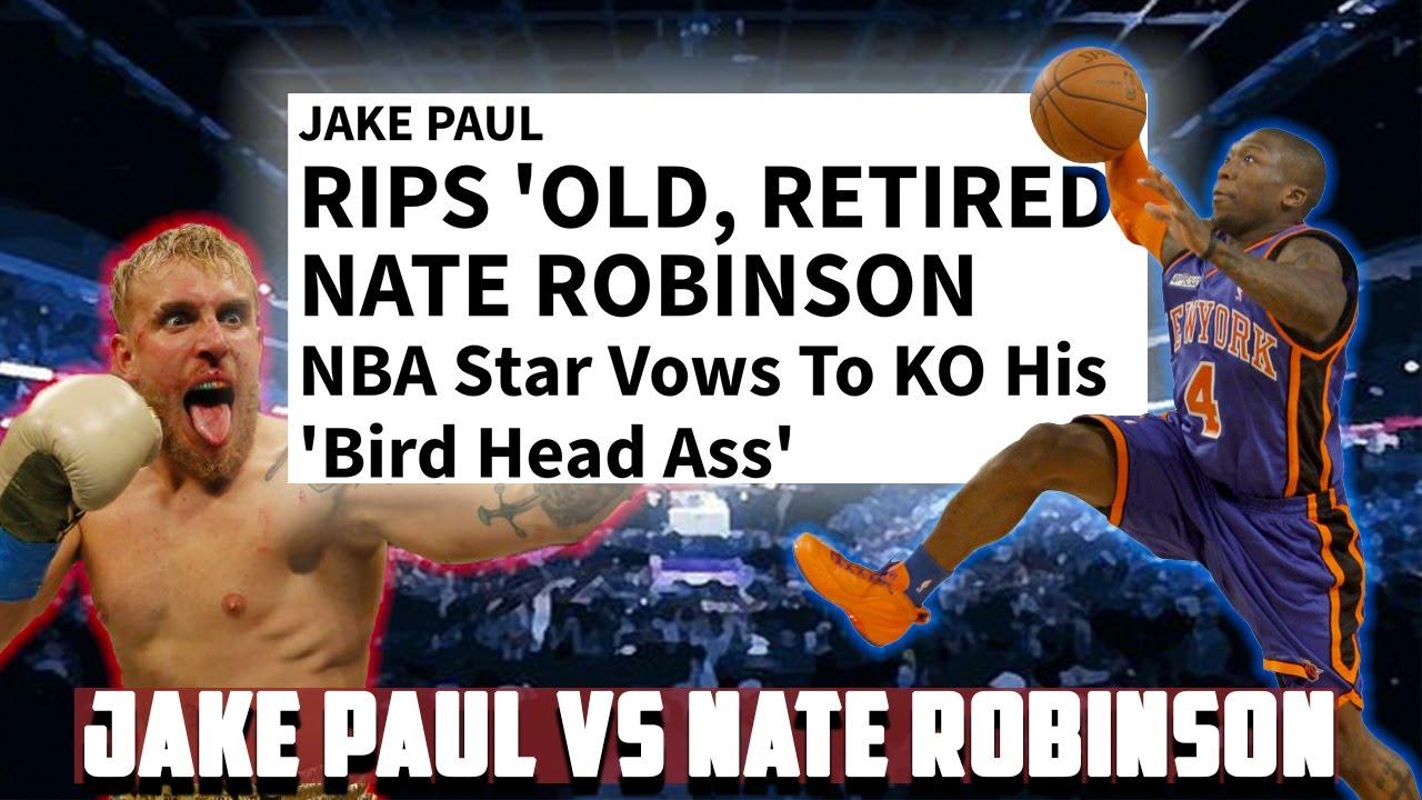 Jake Paul vs Nate Robinson will be better than Tyson vs Jones 🥊