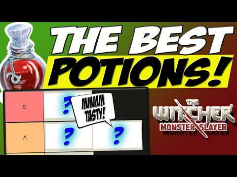 Ranking the best Potions! - The Witcher Monster Slayer  