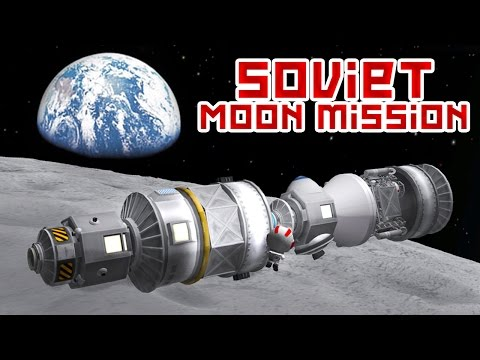 KSP - The Failed Soviet Moon Mission