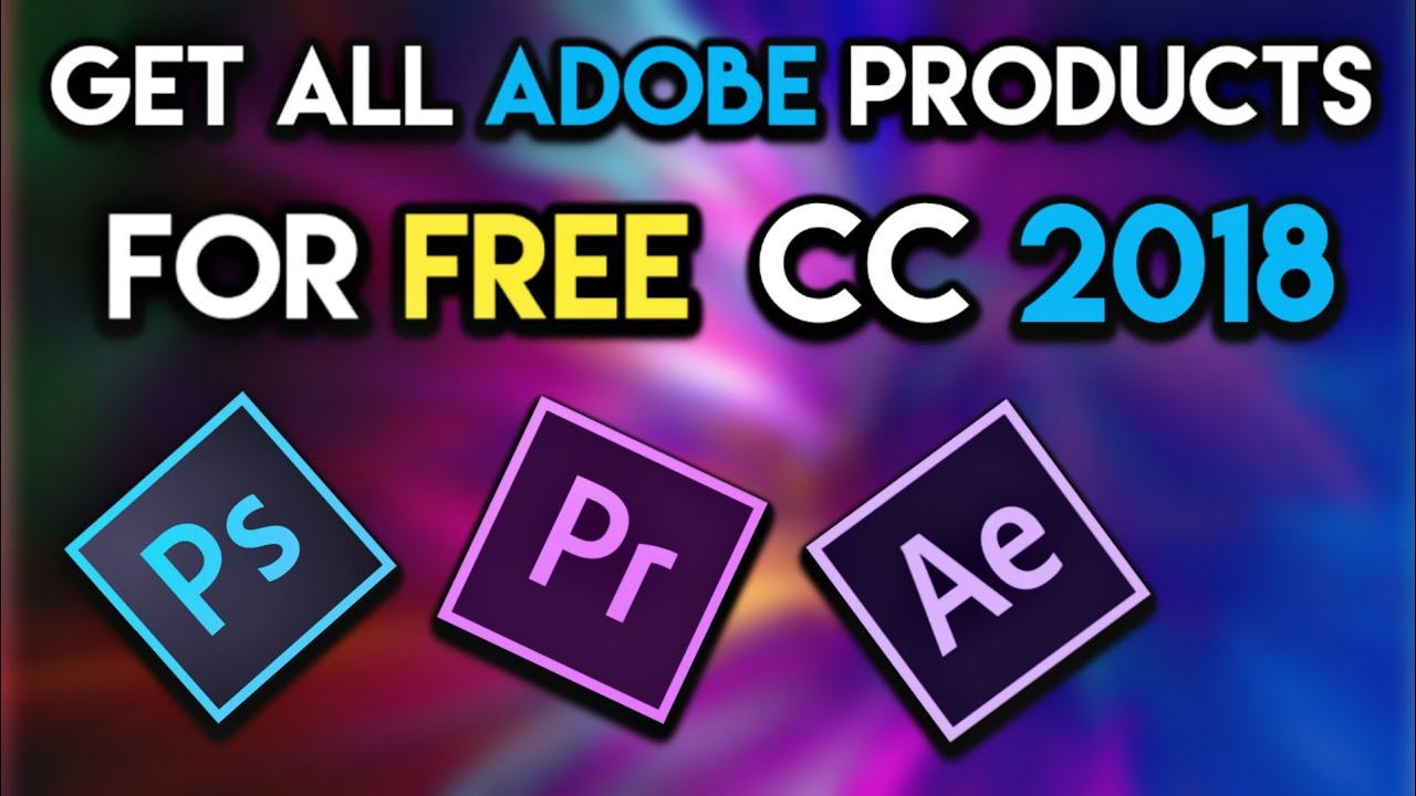 how to get photoshop 2018 for free