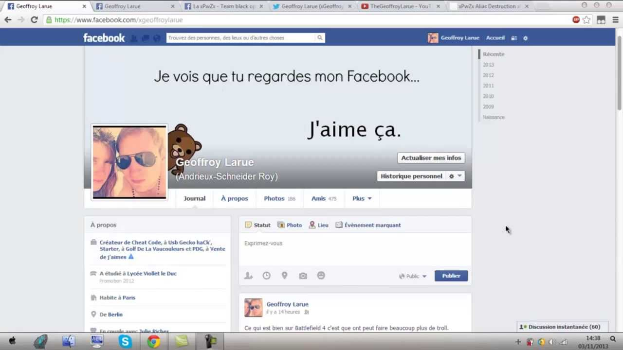 comment pirater une cam sur facebook sans logiciel