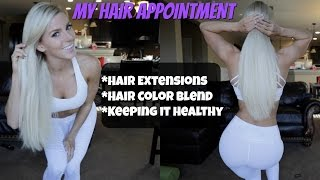 My Hair, Extensions, & Color | Tough Times