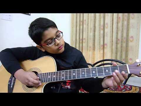 Teri Hai Zameen Tera Aasman on Guitar by Vaibhav Tiwari