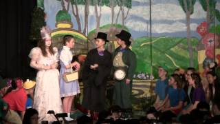 Ruth as Glinda in BMS Spring Musical Wizard of Oz