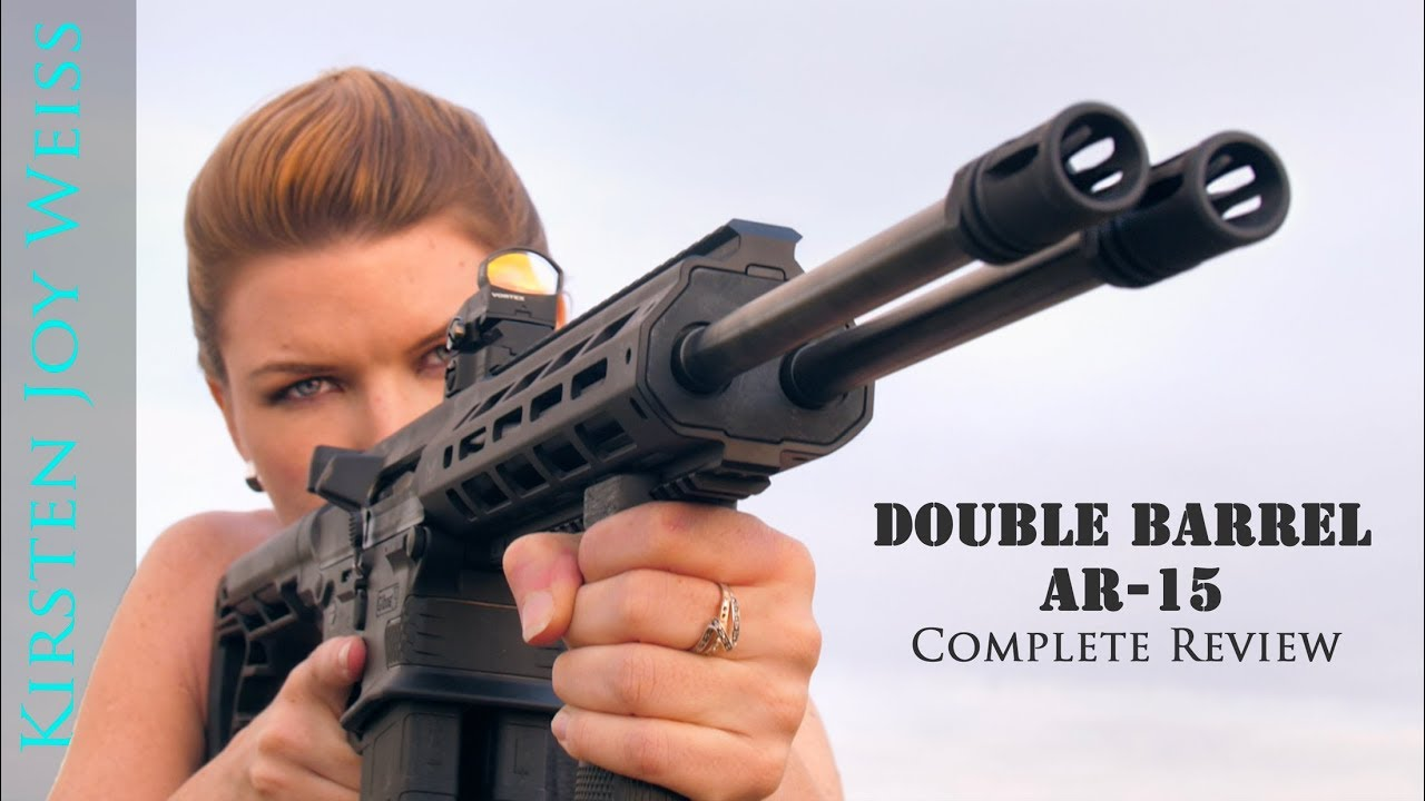 This double-barrel AR is the gun you didn't know you needed