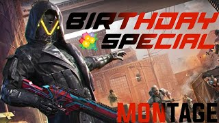 BIRTHDAY SPECIAL BOLTE  PUBG MOBILE MONTAGE   ROAD TO 100 Subs.