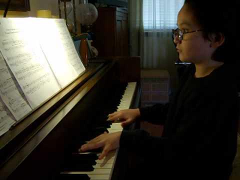 Samuel playing Transylvanian Lullaby by John Morris
