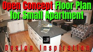 Open Concept Floor Plan For Small Apartment