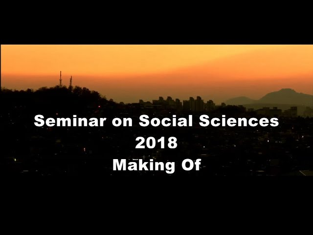 2018 Seminar On Social Sciences