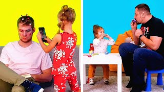 PREGNANCY & PARENTING STRUGGLES WE KNOW TOO WELL || Relatable comedy by 5-minute fun