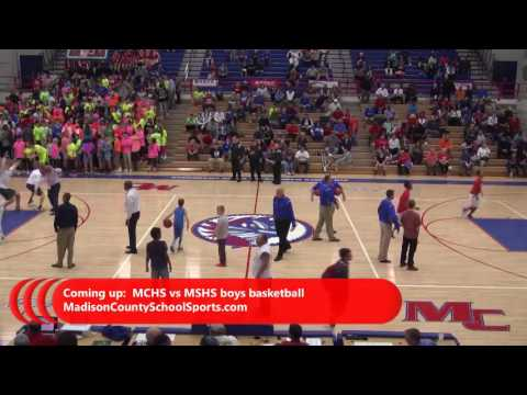Madison Central High School Boys Basketball hosts Madison Southern High School 2016