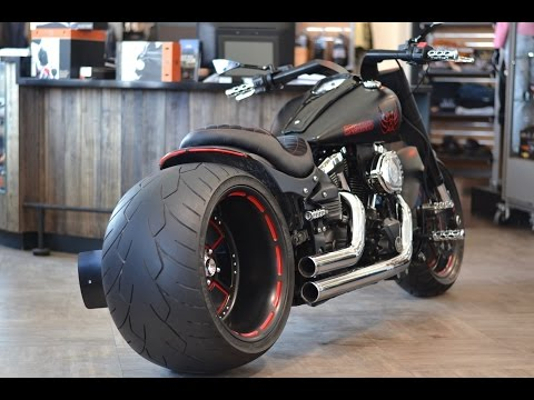 Custom 360 tire motorcycle