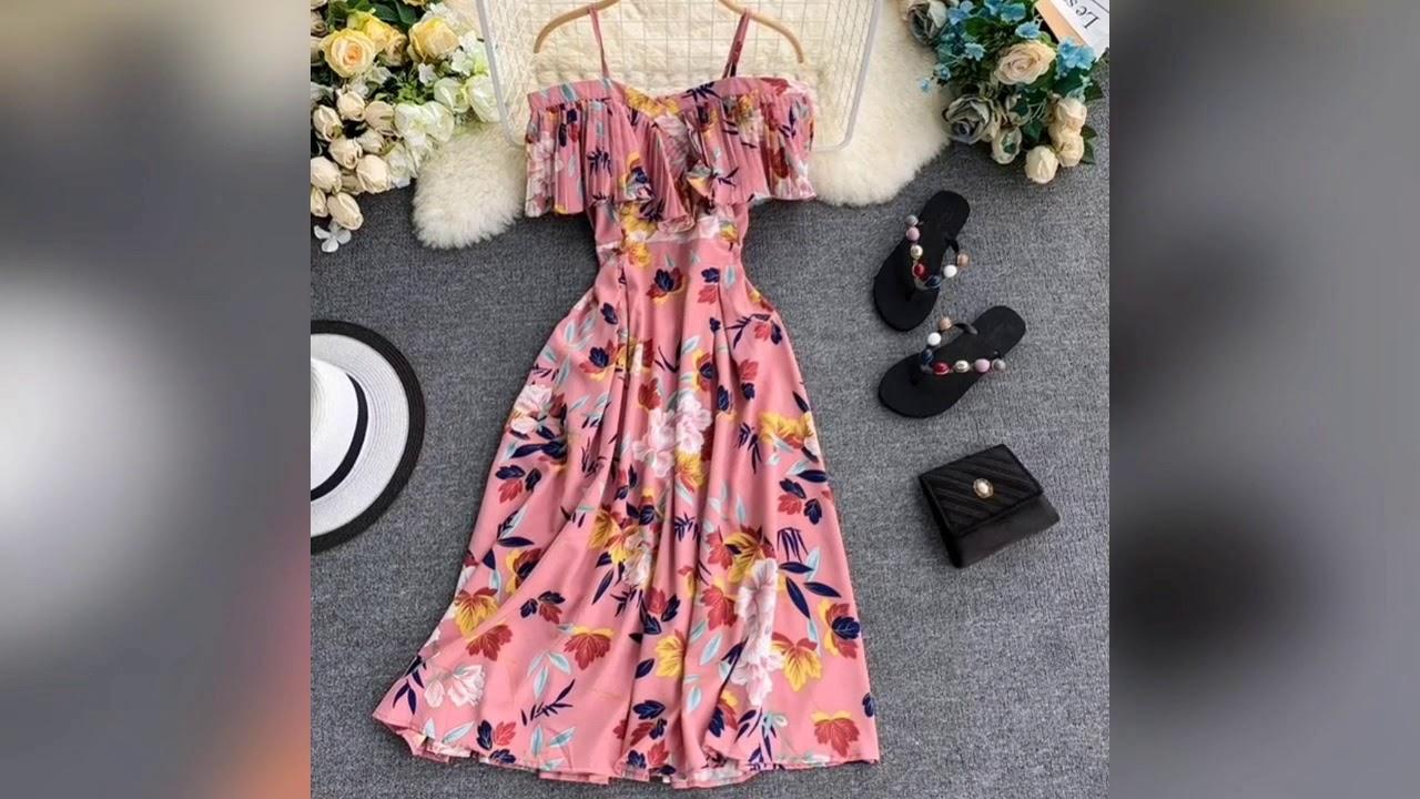 Los Vestidos más hermosos para Verano 2020 Moda para chicas.