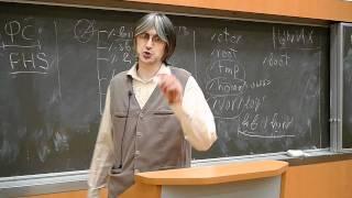 [UNИX][GNU/Linux] Лекция 3. FHS и процессы.