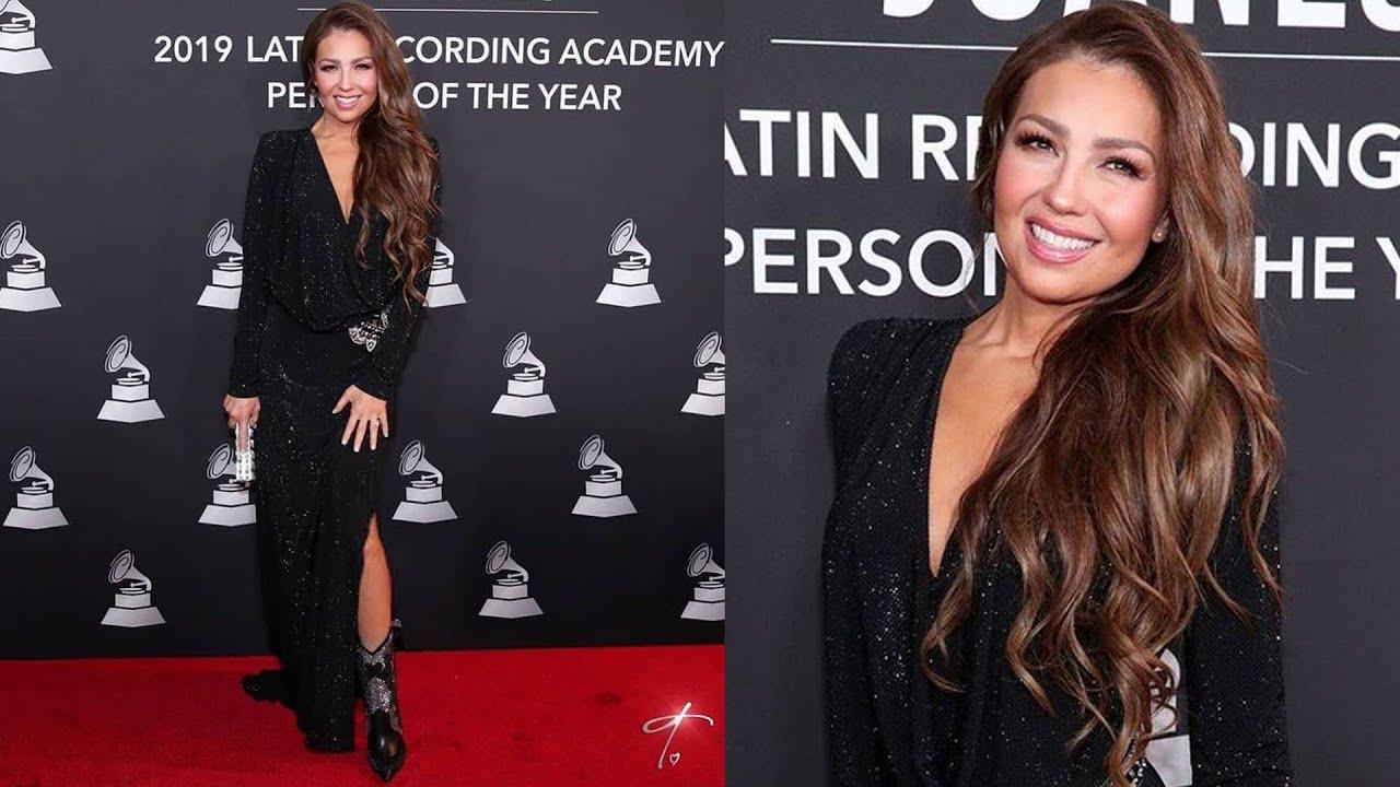 Thalía Habla Del Vestido Que Usó Los Latin Grammy Awards 2019