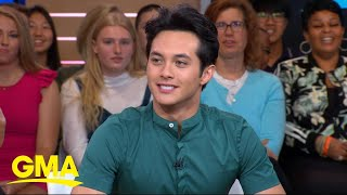 "The winner joins ""GMA"" to discuss his journey on the singing competition and his version of the nerve-wracking moment he was announced the winner. READ MORE: https://gma.abc/2Jw9ZMW  #GMA #AmericanIdol #Winner #LaineHardy"
