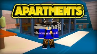 NOUVEAU APARTMENTS! (ROBLOX Jailbreak)