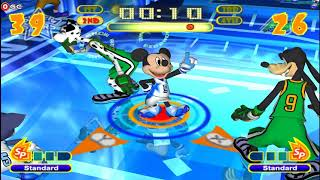 Disney Sports Basketball - Mickey, Donald, Minnie,  Nintendo Gamecube Kids Games #2 FHD