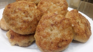 Вкусные КУРИНЫЕ КОТЛЕТЫ РЕЦЕПТ|Простой Рецепт Котлет ИЗ КУРИЦЫ(куриных котлет)|Chicken Cutlet Recipe