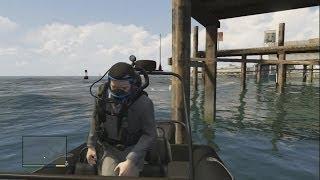 GTA 5: ボート&スキューバーダイビング機材 入手位置 【グラセフ5】 thumbnail