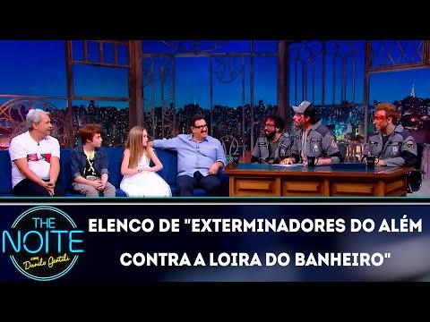 Entrevista com o elenco de Exterminadores do além contra a loira do banheiro  The Noite 281118