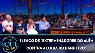 Baixar Entrevista com o elenco de Exterminadores do além contra a loira do banheiro | The Noite (28/11/18