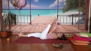 Йога терапия Осевое вытяжение позвоночника   2 Урок