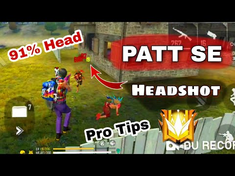 Free Fire 🔥 Auto Drag Headshot Sensitivity In This Video 2020 | Free fire Patt Se Headshot Trick