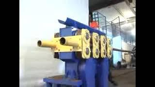 Изготовление профильной трубы/Profile Rolling Machine