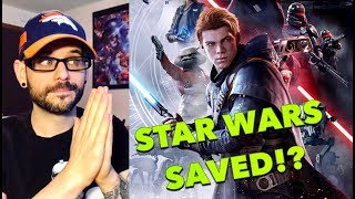 Can Star Wars: Jedi Fallen Order SAVE Star Wars video games??