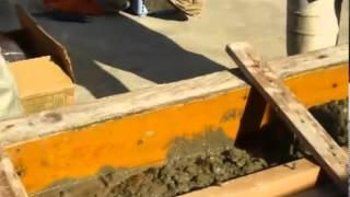 Жұмыс роторлы бетононасоса балқытуда