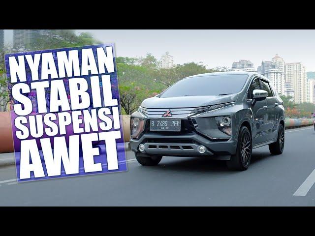 Obat Nyaman, Stabil, dan Suspensi Awet Buat Mitsubishi Xpander Maki