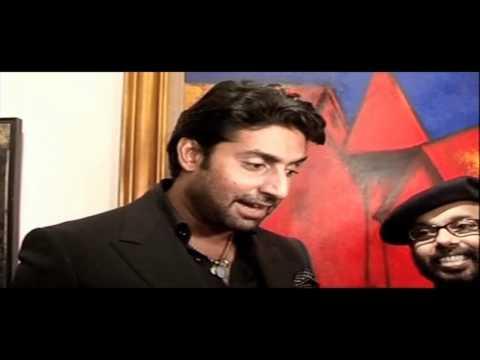 Abhishek Bachchan At Paresh Maity's Art Exhibition