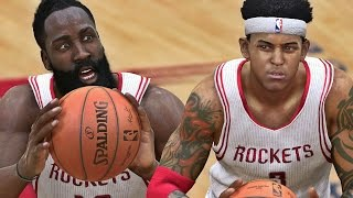 NBA LIVE 15 Rising Star Playoffs WCFG2 - MVP Chants For JAMES HARDEN!!