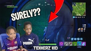 Worlds worst FORTNITE Player gets Taught!!