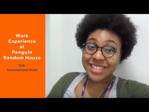 Work Experience at Penguin Random House