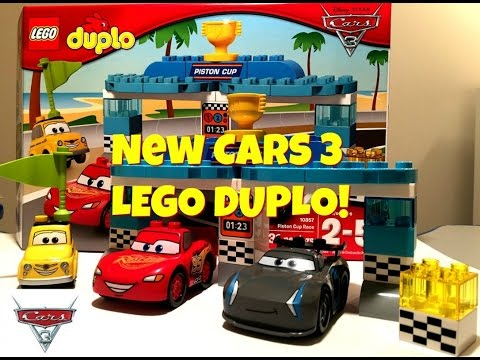 New Disney Cars 3 Lego Duplo Piston Cup Race Toy Set 10857 Review