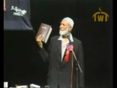 Ahmad Deedat Vs Anis Shorrosh Debate (Quran Or The Bible: Which Is God's Word?)
