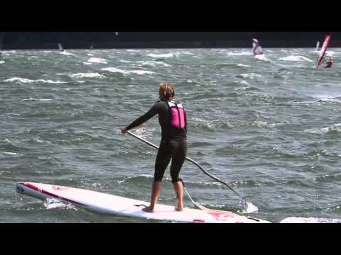 Paddle Boarding Downwinders in the Columbia Gorge
