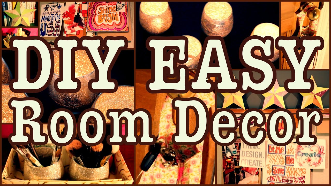 diy easy room decor ways to spice up your room youtube