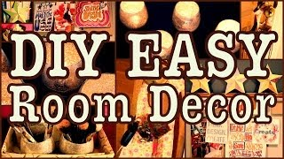 Diy Easy Room Decor! ✽ Ways To Spice Up Your Room