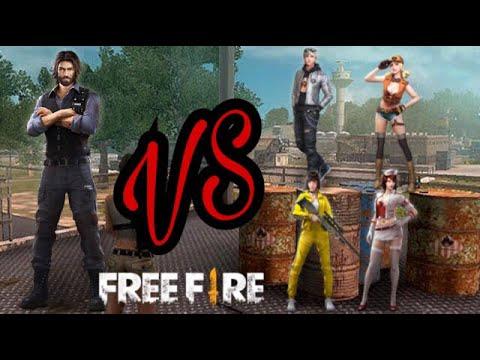 Solo vs Squad- Free Fire💀💀💀💀