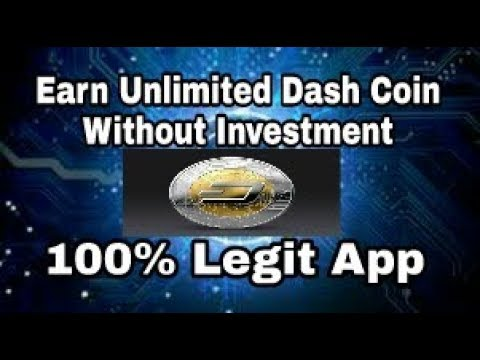 Without Investment Earn Unlimited Dash Coin.Dashcoin Legit App With Paymemt Proof.