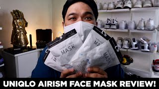 UNIQLO AIRISM Face Mask Review Just Hype