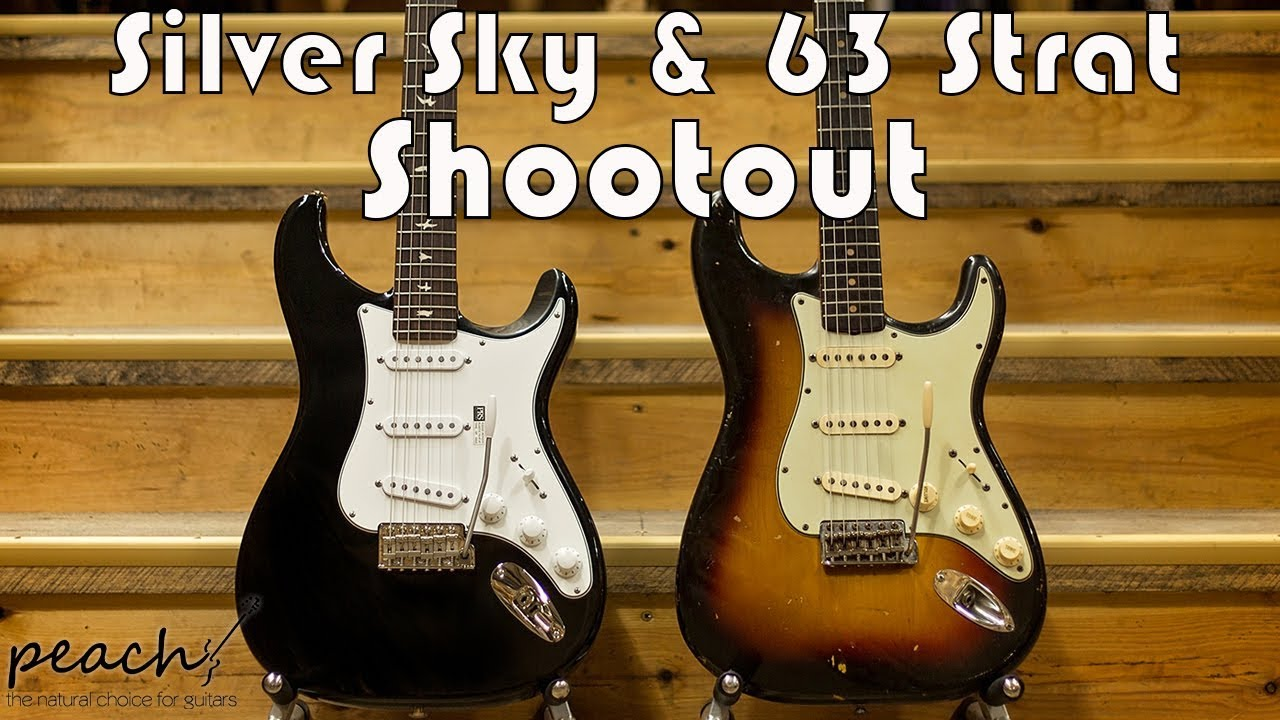 Prs Silver Sky John Mayer Old Amp New Rig Shootout Youtube