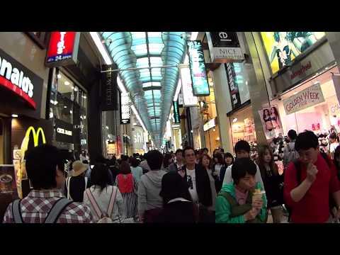Golden Week Madness in Osaka Japan