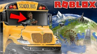 THIS BUS GOES ALL OVER THE WORLD! Roblox