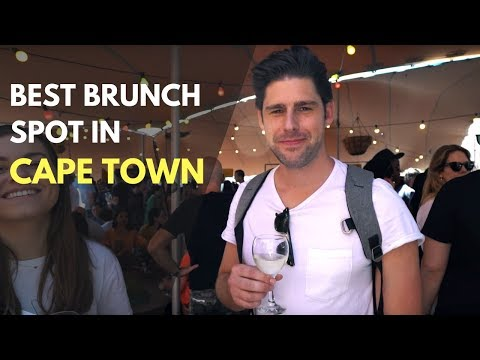 BEST BRUNCH IN CAPE TOWN AND CAPE TOWN SUNSET WITH FRIENDS